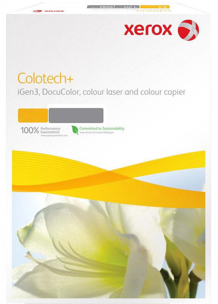 Бумага XEROX Colotech Plus Gloss Coated 170г/м2 A4 400листов