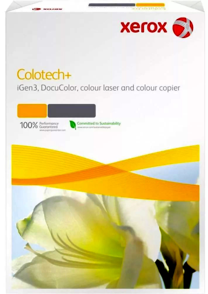 Бумага XEROX Colotech Plus 170CIE 300г/м2 A4 125листов