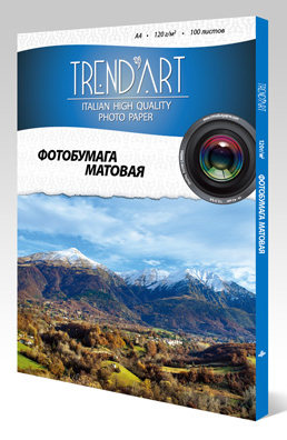 Фотобумага TrendArt Matte Coated Inkjet MC180_10X15_50