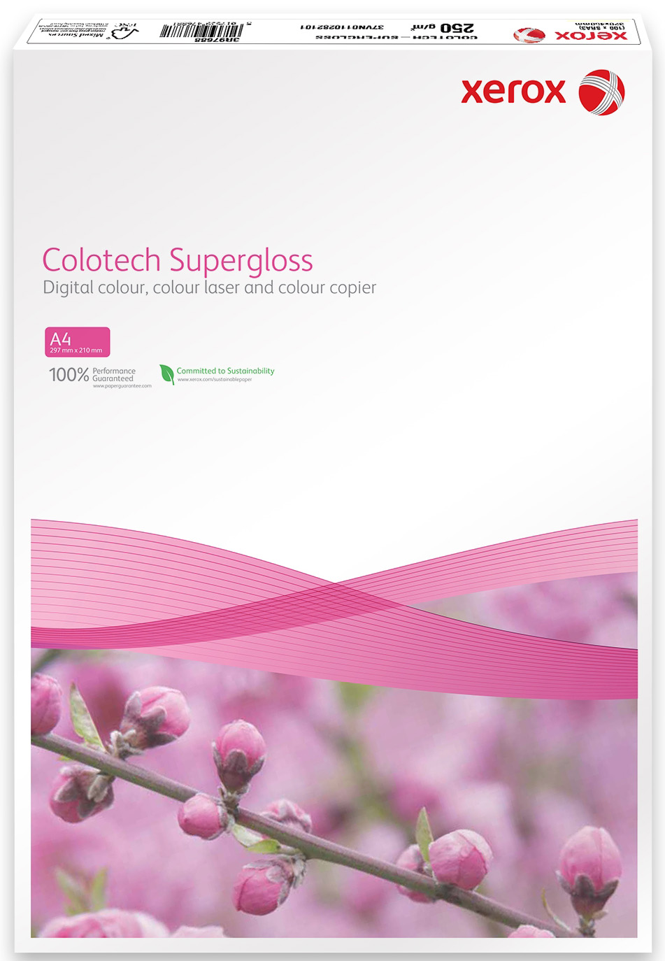 Бумага XEROX Colotech Supergloss 250г/м2 A3 100листов
